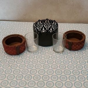 Black Better Homes Candle sleeve,etc